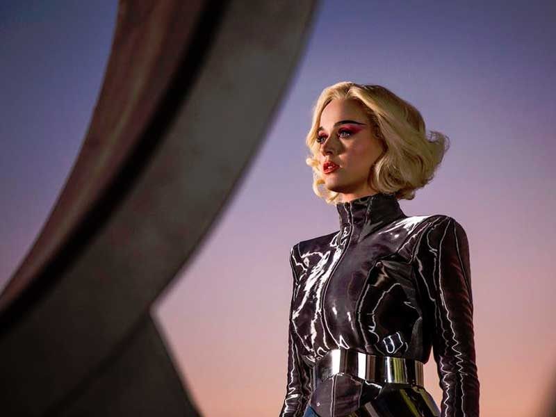 WATCH: Katy Perry just dropped her new clip for 'Chained To The Rhythm'