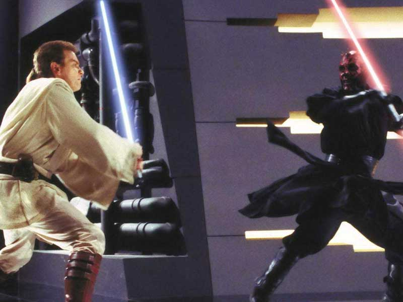 WATCH: this clip 'improves' the Obi vs Darth Maul fight
