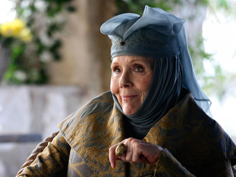 Victoria: new royal role for Diana Rigg
