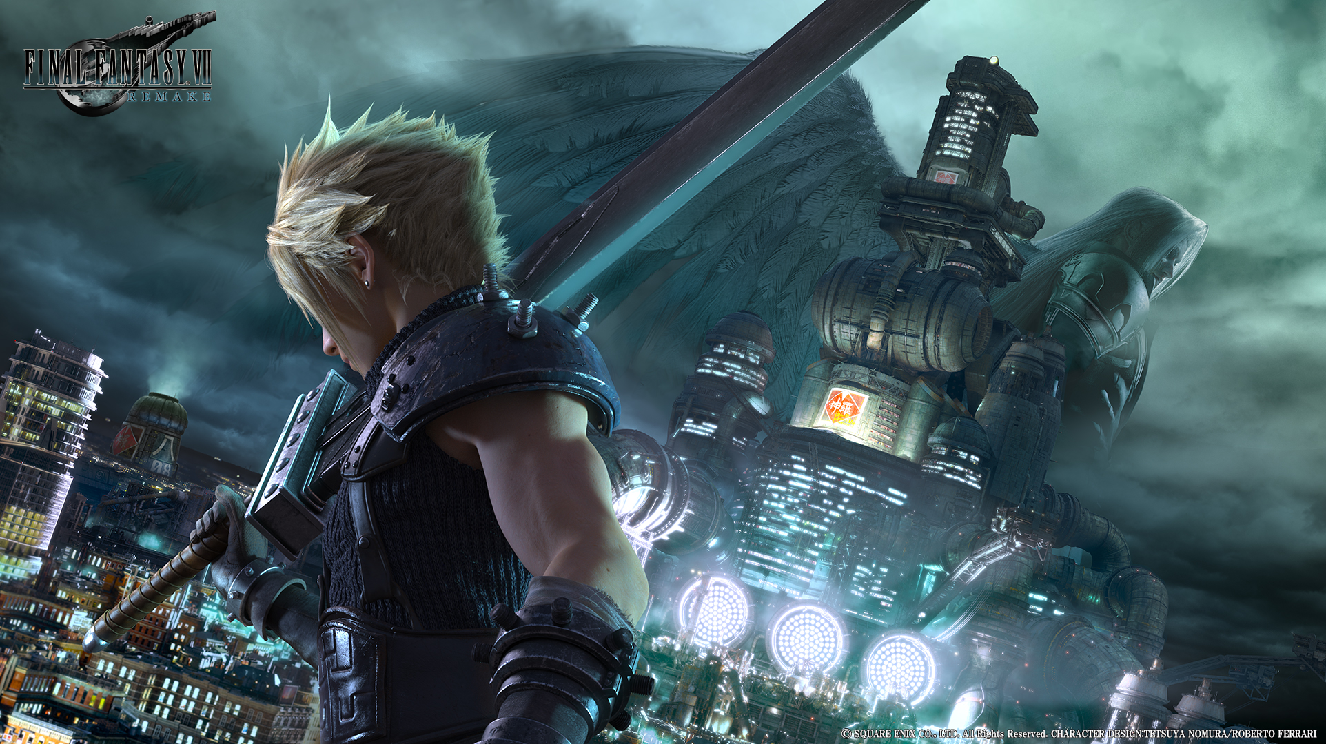 Here's a new look at the Final Fantasy VII remake