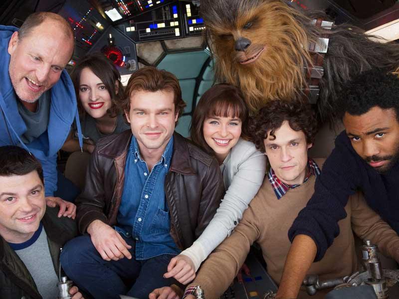 Han Solo Star Wars story begins