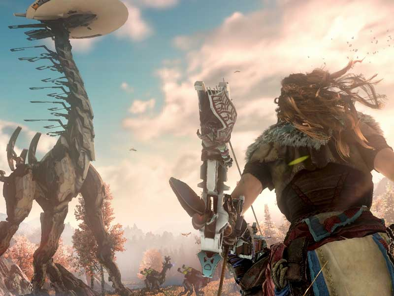 Horizon Zero Dawn launches with Tallneck-sized numbers