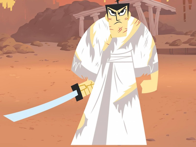 Samurai Jack is back