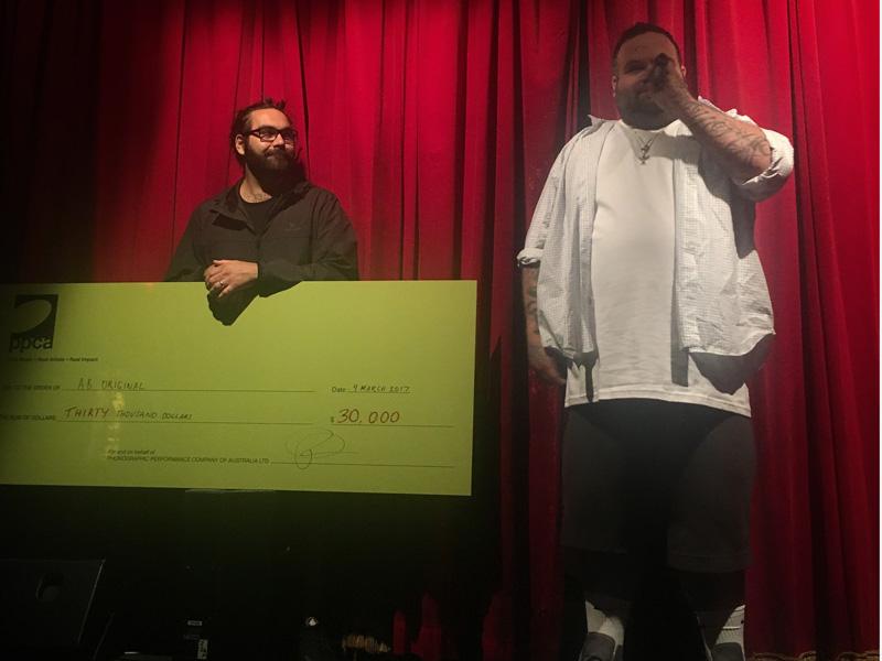 A.B. Original win the 12th Australian Music Prize