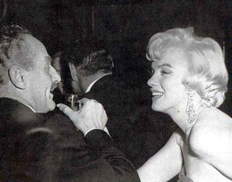 Darryl-F.-Zanuck-with-his-most-famous-movie-star,-Marilyn-Monroe