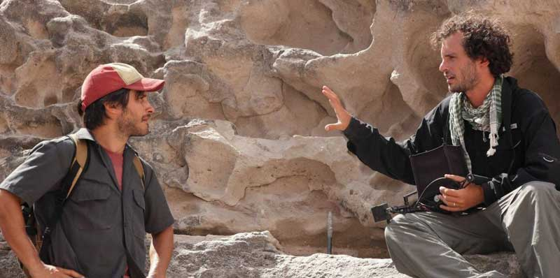 Jonás and Alfonso Cuarón talk Desierto