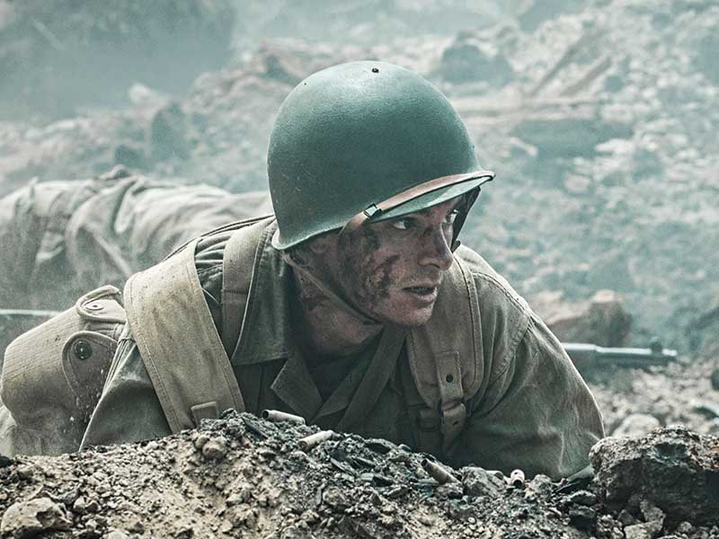Hacksaw Ridge on DVD and Blu-ray March 15