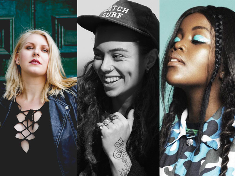 6 primo young Oz music queens for IWD
