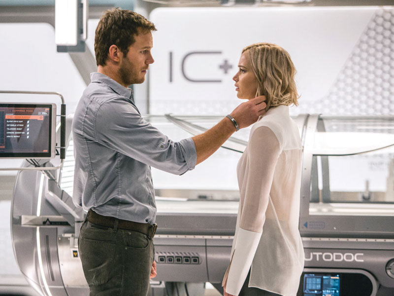 Passengers on DVD, Blu-ray and 4K April 12