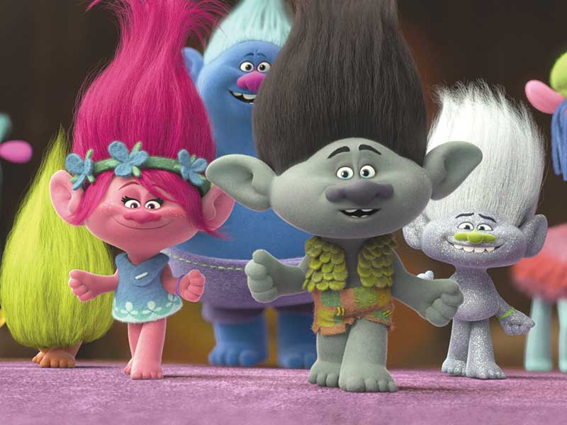 Trolls out now on DVD Blu-ray and 4K