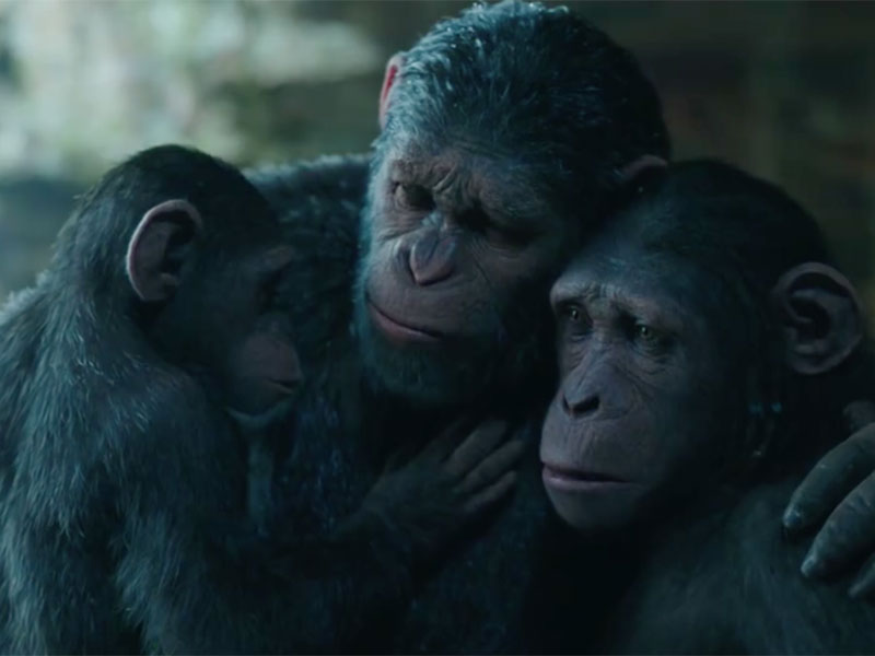 WATCH: War for the Planet of the Apes – Official trailer