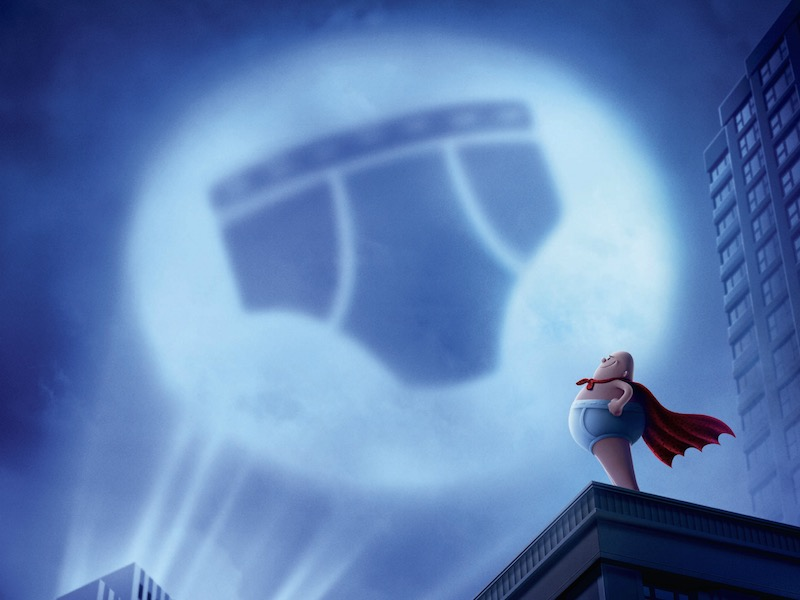 Check out first Captain Underpants trailer