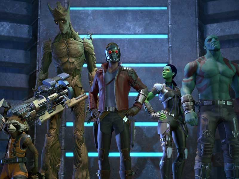 More info on Telltale's Guardians of the Galaxy