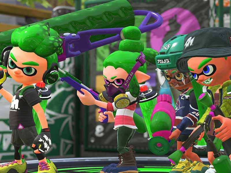 Don't miss the Splatoon 2 open beta this weekend