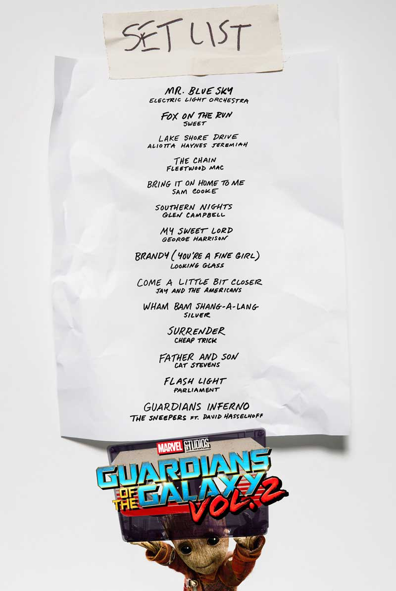 Guardians Of The Galaxy 2 Soundtrack