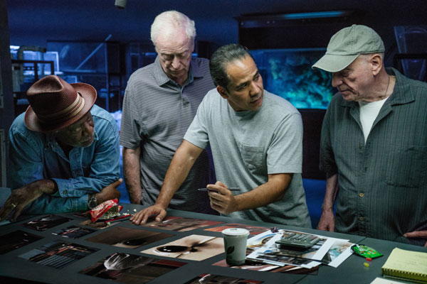 Michael-Caine,-Morgan-Freeman-and-Alan-Arkin-plan-their-heist-for-Going-in-Style