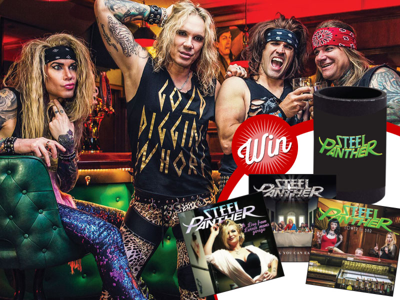 Five Steel Panther prize-packs up for grabs