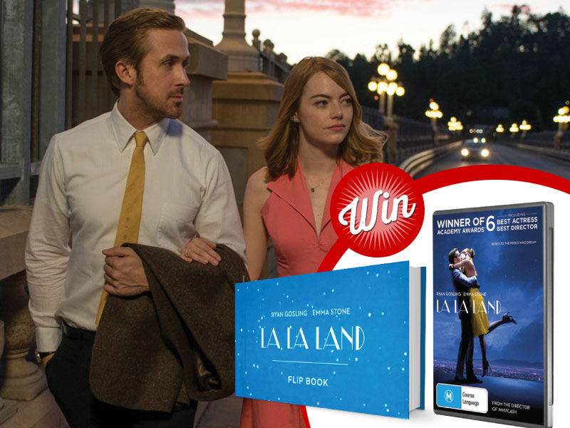 Five wonderful La La Land prize-packs
