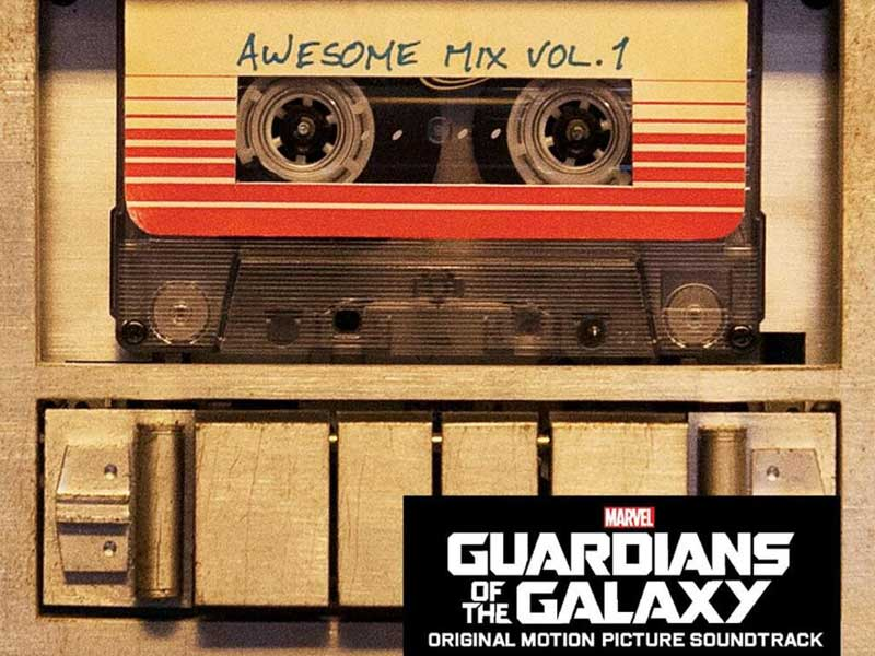 Awesome new Guardians of the Galaxy soundtrack