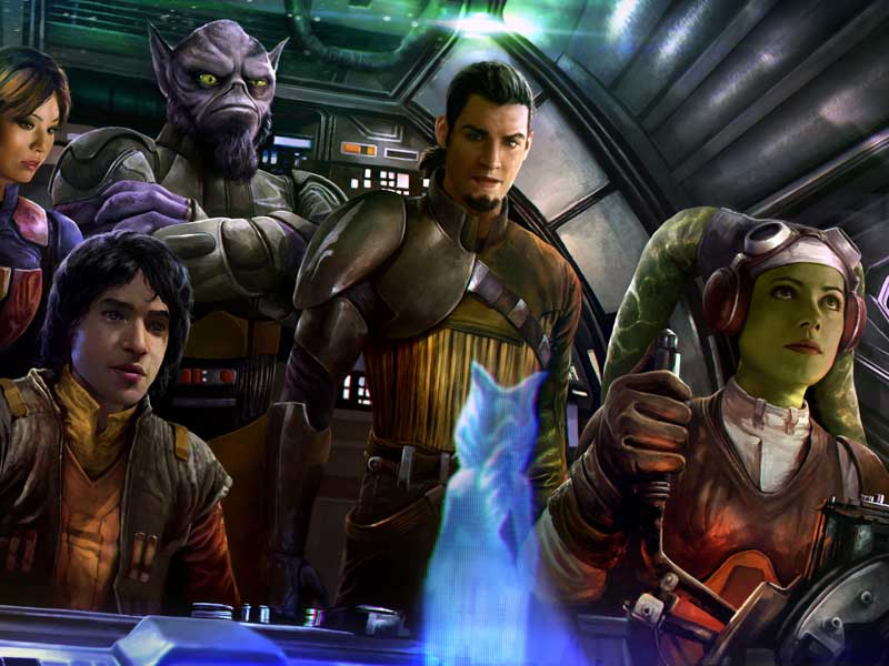 Fourth season of Star Wars Rebels in production