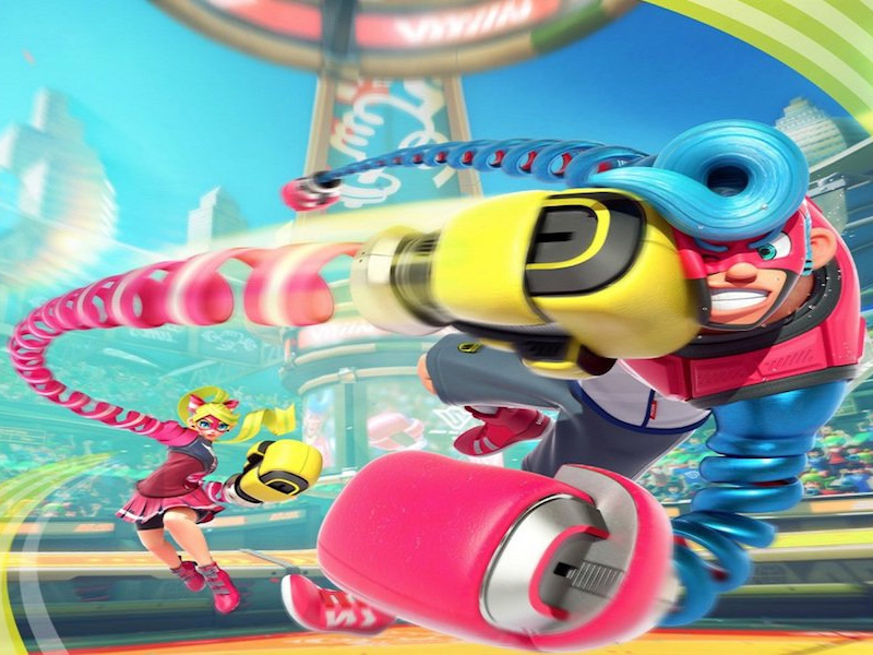 ARMS on Nintendo Switch out June 15