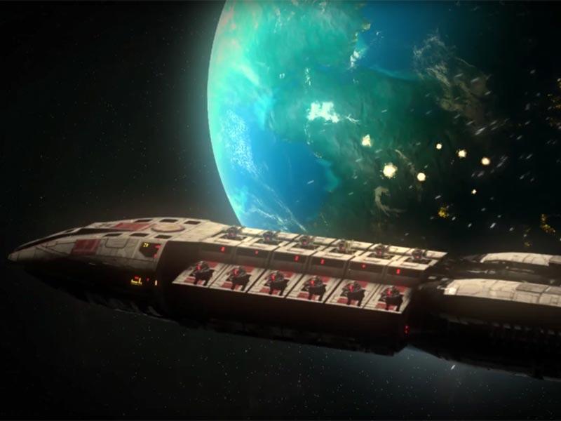 Cylon witness: Battlestar Galactica game incoming