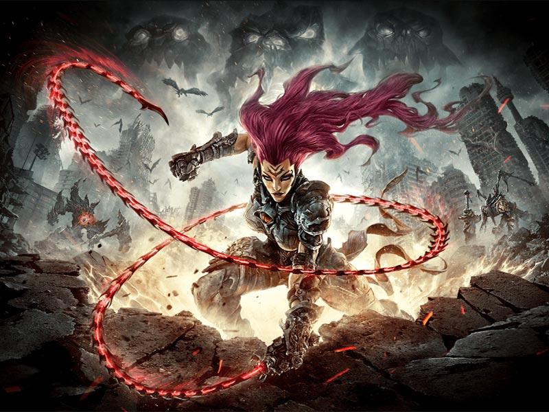 Whips apocalypse! Darksiders III announced