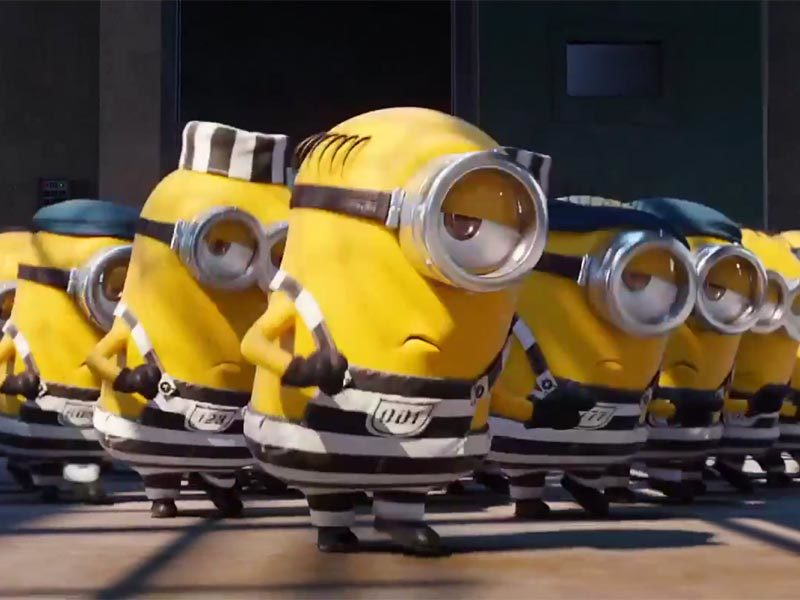 Minions jailed! New Despicable Me 3 trailer
