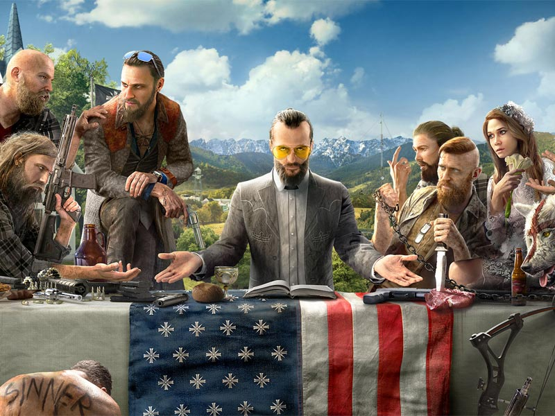 Far Cry 5 – Join the release info cult!