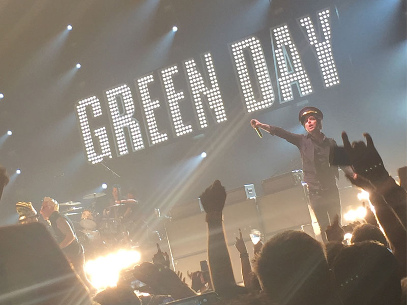 Green Day @ Rod Laver Arena, Melbourne