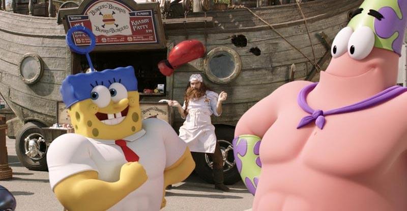 Hamburger Month - The SpongeBob Movie: Sponge Out of Water