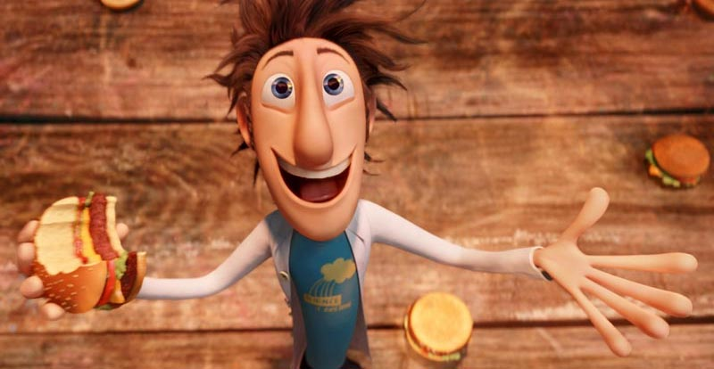 Hamburger Month - Cloudy with a Chance of Meatballs