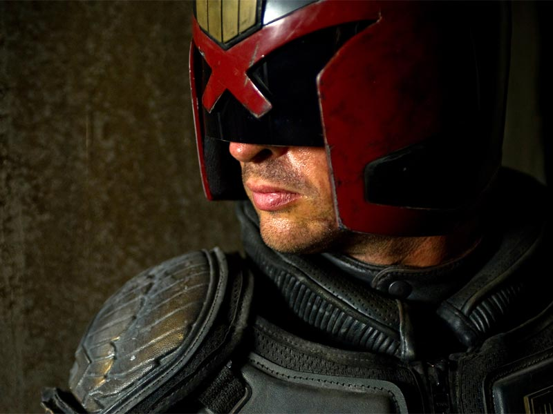 Our TVs will be filled with Dredd!