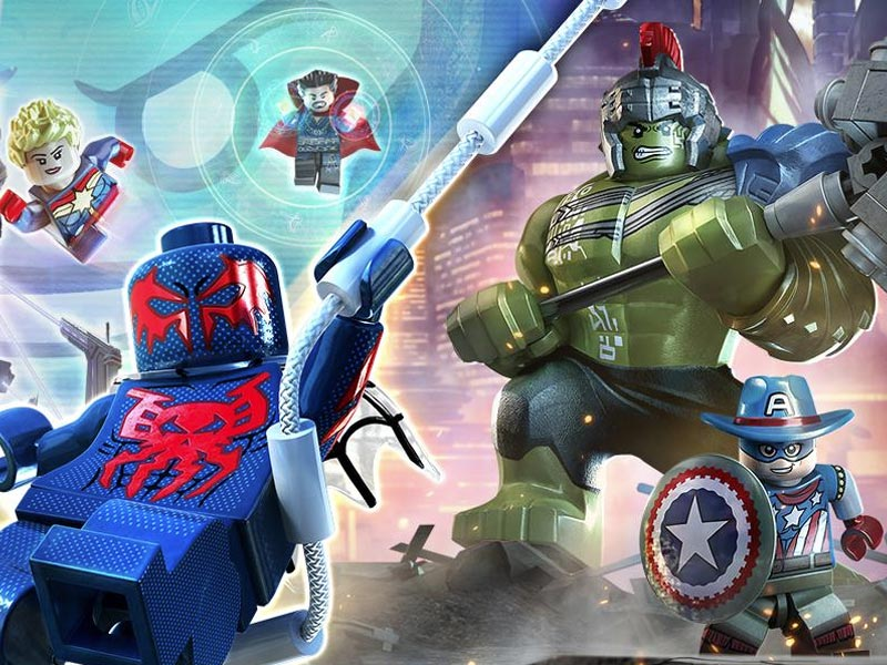 LEGO Marvel Super Heroes 2 to mix things up