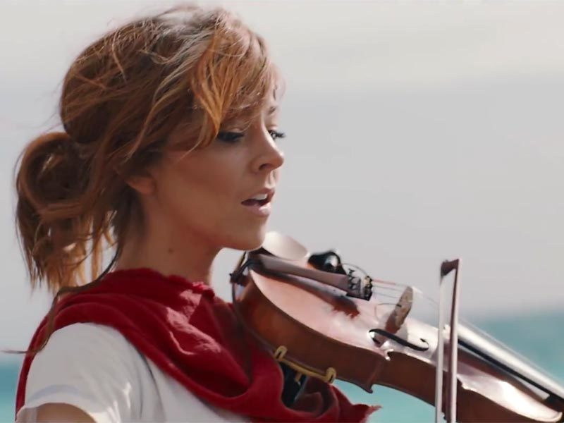 Lindsey Stirling makes something RiME