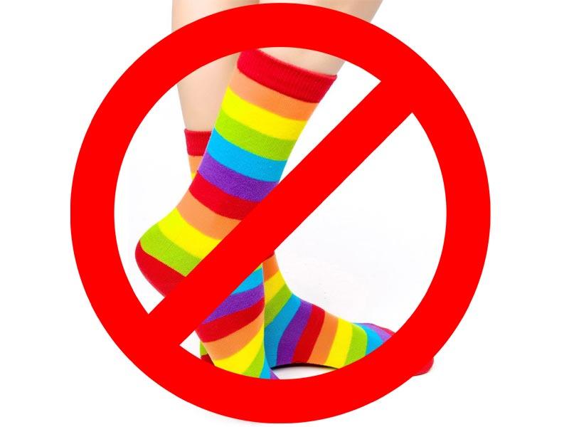No socks please – 6 sock-free movie characters