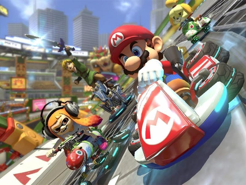 Mario Kart 8 Deluxe – going manual without a manual