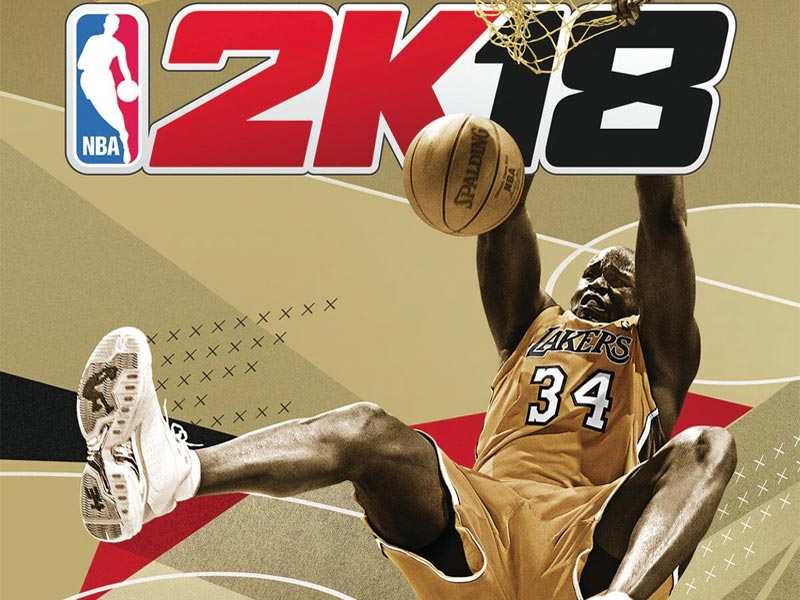 Boom-Shaq-alaka! Shaquille O'Neal to grace NBA 2K18 cover