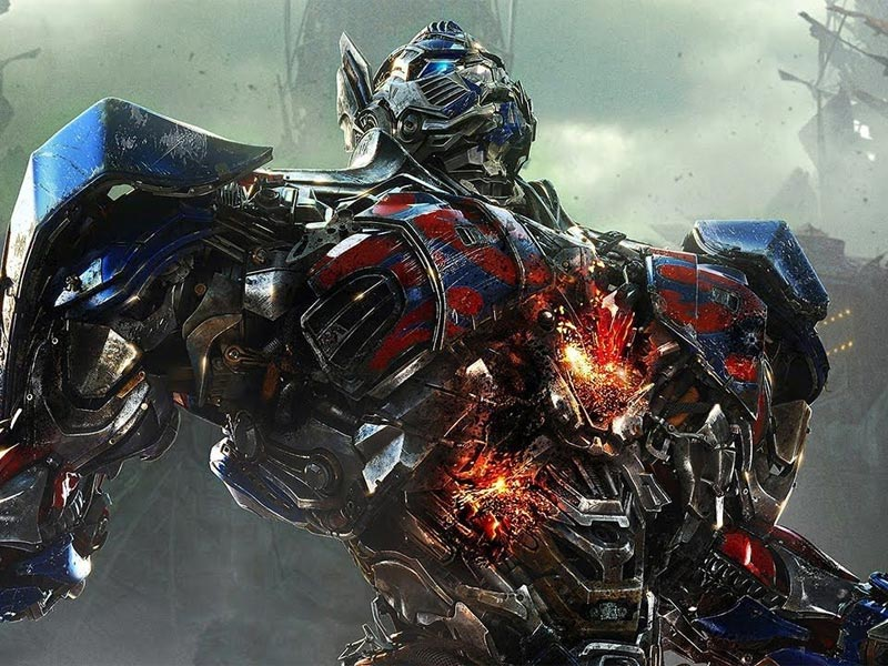 Watch: Success has gone to Optimus Prime's head!