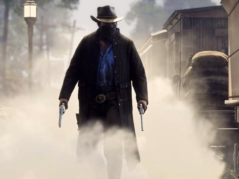 Red Dead Redemption 2 misses train