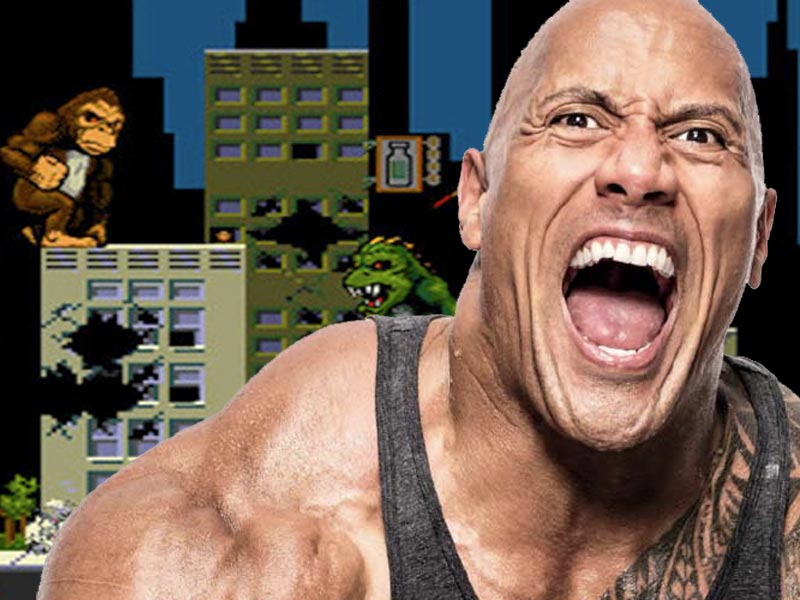 The Rock on Rampage!