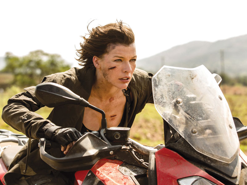 Resident Evil: The Final Chapter on DVD, Blu-ray and 4K May 17