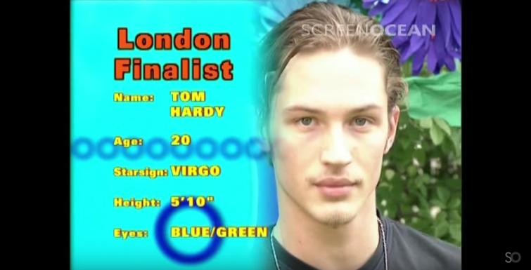 Watch 20 Year Old Tom Hardy Modelling On Breakfast Tv In