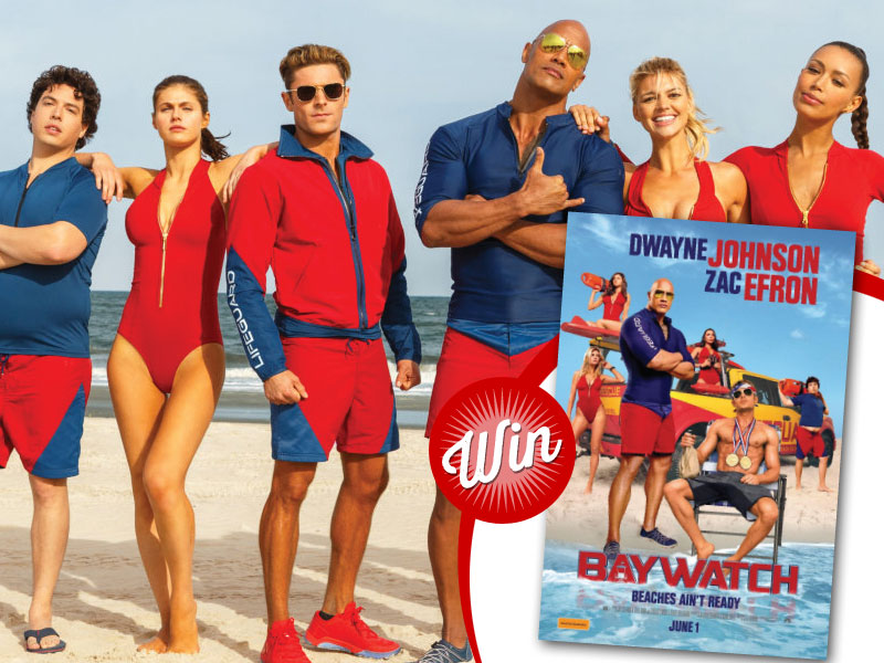 Win a double pass to see Baywatch