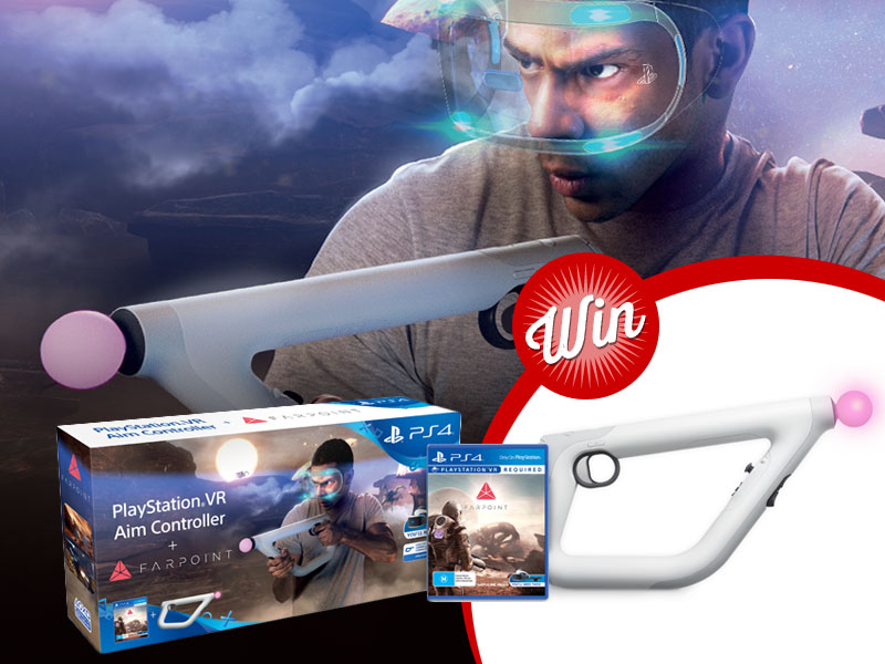 Win Farpoint VR bundle, including aim controller