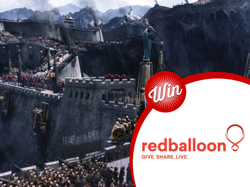 Win a Red Balloon voucher with The Great Wall