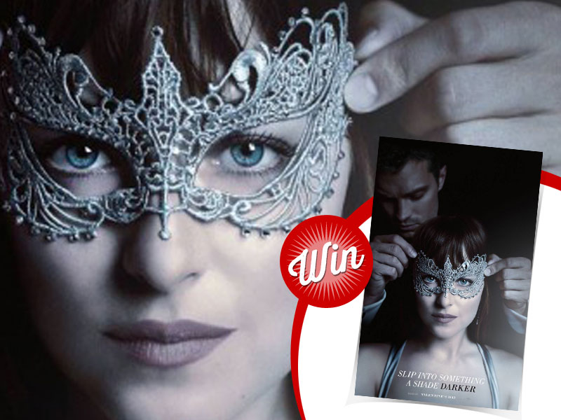 Win a signed Fifty Shades Darker poster, signed by E.L. James