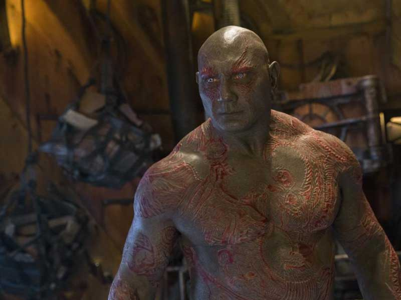 Watch: Dave Bautista's gruelling makeup for G.o.t.G. Vol. 2