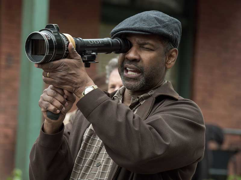 Denzel Washington talks Fences