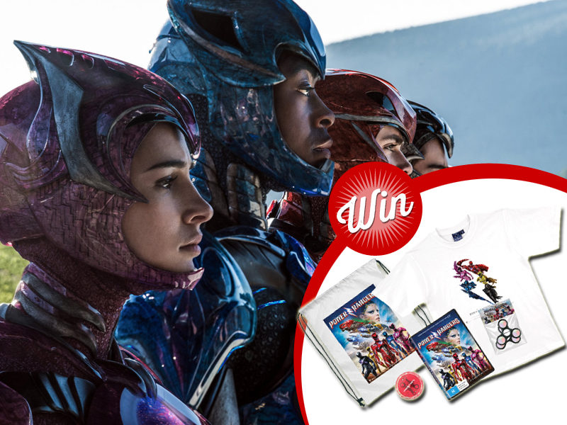 Win Power Rangers: The Movie prize-packs